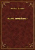 Beata simplicitas - ebook