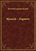 Niewola : fragment - ebook